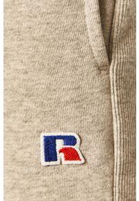 Russell Athletic - Russel Athletic - Spodnie. Okazja: na co dzień. Kolor: szary. Styl: casual