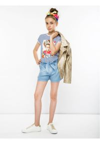 Niebieskie szorty jeansowe Primigi