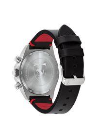 Czarny zegarek Scuderia Ferrari