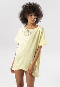 Born2be - Żółta Bluzka Amarelia. Kolor: żółty