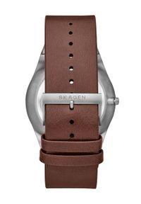 Brązowy zegarek Skagen