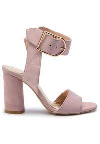 Różowe sandały Karino casualowe, na co dzień