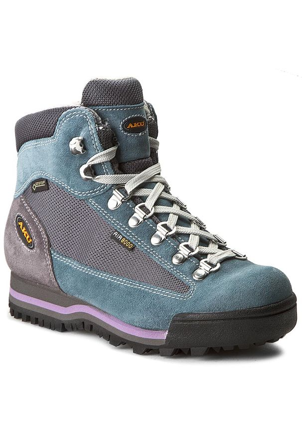 Niebieskie buty trekkingowe Aku trekkingowe, na zimę