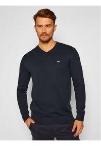 Niebieski sweter klasyczny Tommy Jeans