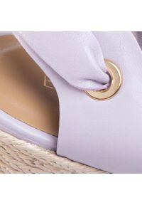 Fioletowe sandały Eva Minge
