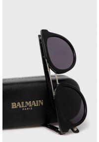Balmain - Okulary BL2110B.01. Kolor: czarny