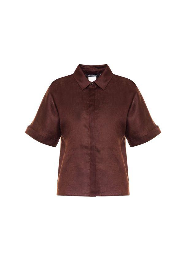 Brązowa koszula Pennyblack