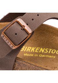 Birkenstock - Japonki BIRKENSTOCK - Gizeh Bs 0043753 Mocca. Kolor: brązowy. Materiał: skóra ekologiczna