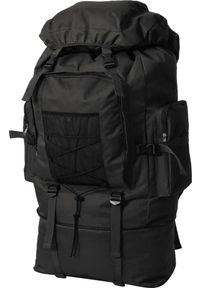 Czarny plecak vidaXL militarny