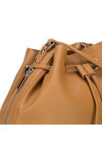 Złota torebka worek Wittchen duża, na ramię
