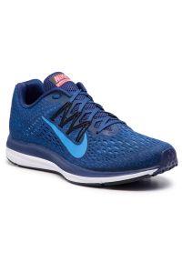 Niebieskie sneakersy Nike Nike Zoom