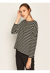 Sweter klasyczny Weekend Max Mara w kolorowe wzory