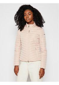 Różowa kurtka przejściowa Geox
