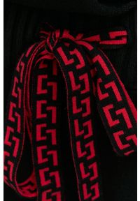 Liviana Conti - Spodnie. Kolor: czarny. Materiał: dzianina