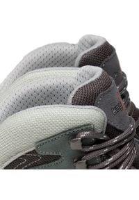 Kayland - Trekkingi KAYLAND - Taiga W's Gtx GORE-TEX 18021040 Light Grey. Kolor: szary. Materiał: skóra, materiał, zamsz. Szerokość cholewki: normalna