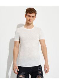 SER.O.YA - Bawełniany t-shirt Luke Easy. Kolor: biały. Materiał: bawełna