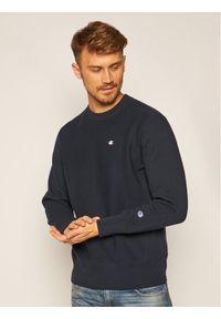 Champion Bluza Reverse Weave 215215 Granatowy Custom Fit. Kolor: niebieski