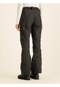 Czarne spodnie sportowe The North Face narciarskie