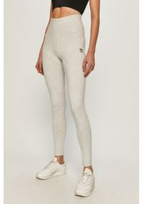 Szare legginsy adidas Originals z podwyższonym stanem