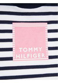 Niebieska sukienka TOMMY HILFIGER prosta, na co dzień, casualowa