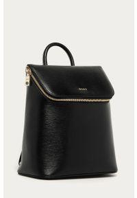 Czarny plecak DKNY elegancki