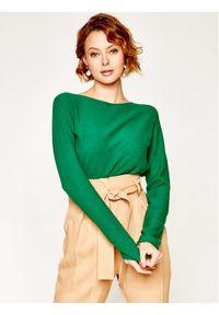 Zielony sweter klasyczny Marc O'Polo polo