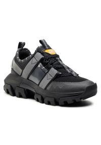 CATerpillar - Sneakersy CATERPILLAR - Raider Web P110183 Black. Okazja: na co dzień. Kolor: czarny. Materiał: materiał. Szerokość cholewki: normalna. Sezon: lato. Styl: casual