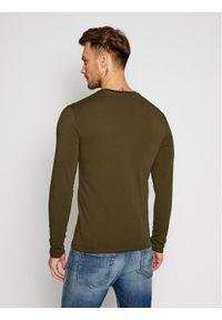 Zielona koszulka z długim rękawem Guess