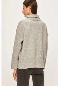 Szary sweter ANSWEAR z golfem #5