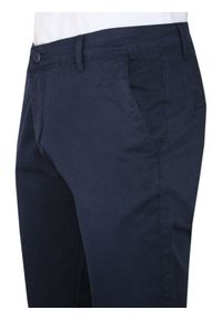 Niebieskie spodnie TO-ON na co dzień, casualowe