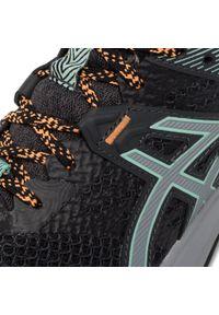 Czarne buty do biegania Asics na co dzień, z cholewką