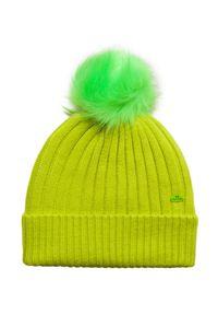 Zielona czapka Jail Jam w kolorowe wzory