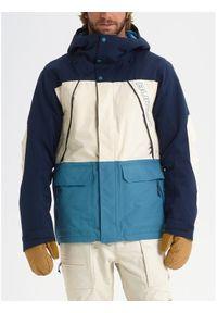 Kurtka sportowa Burton w kolorowe wzory, snowboardowa