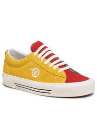 Żółte buty sportowe Vans