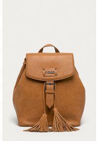 Nobo - Plecak. Kolor: brązowy