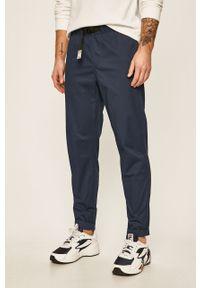 Niebieskie spodnie New Balance na co dzień, casualowe