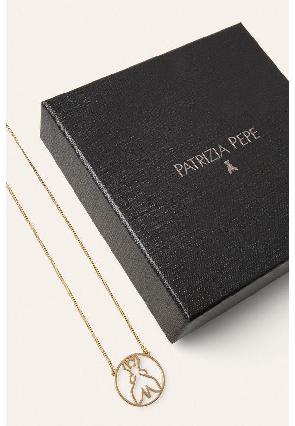 Złoty naszyjnik Patrizia Pepe metalowy