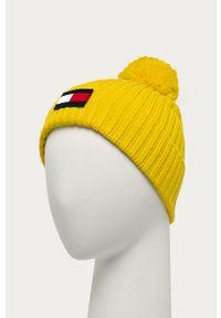 Żółta czapka TOMMY HILFIGER