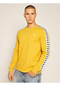 Żółta koszulka z długim rękawem Kappa
