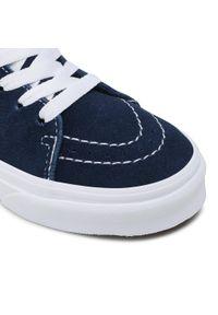 Vans - Sneakersy VANS - Sk8-Hi VN0A4BUW3UX1 (Classic Sport) Drsbisffrn. Okazja: na spacer, na uczelnię. Kolor: wielokolorowy, żółty, niebieski. Materiał: zamsz, materiał, skóra. Szerokość cholewki: normalna. Styl: sportowy