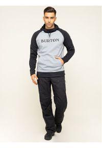 Czarne spodnie sportowe Burton narciarskie