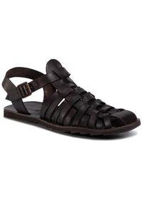 Brązowe sandały QUAZI