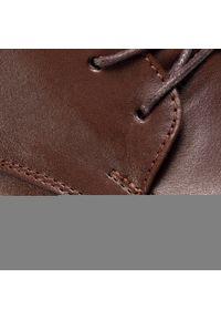 Brązowe buty wizytowe QUAZI klasyczne