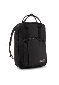 Czarna torba na laptopa Jack Wolfskin