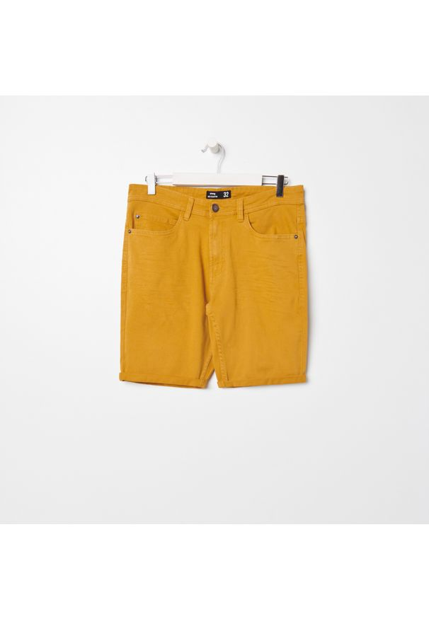 Żółte szorty Sinsay