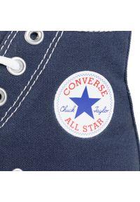 Niebieskie buty sportowe Converse do koszykówki, na co dzień #8