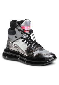 Srebrne buty sportowe Loriblu