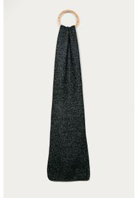 Niebieski szalik Stefanel klasyczny, melanż