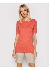 Marc O'Polo T-Shirt 104 2261 51399 Pomarańczowy Regular Fit. Typ kołnierza: polo. Kolor: pomarańczowy