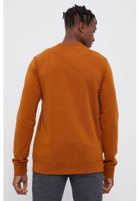 Element - Bluza. Kolor: brązowy. Wzór: nadruk